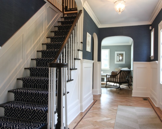 Foyer Stair Runners : Images about passages entry staircase and hallway